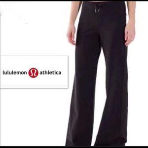 🍋lululemon wide leg comfy pant❤️New listing!EUC⭐️
